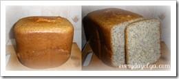 булочка с маком в хлебопечке