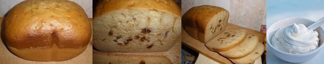 Сметанный кекс в хлебопечке