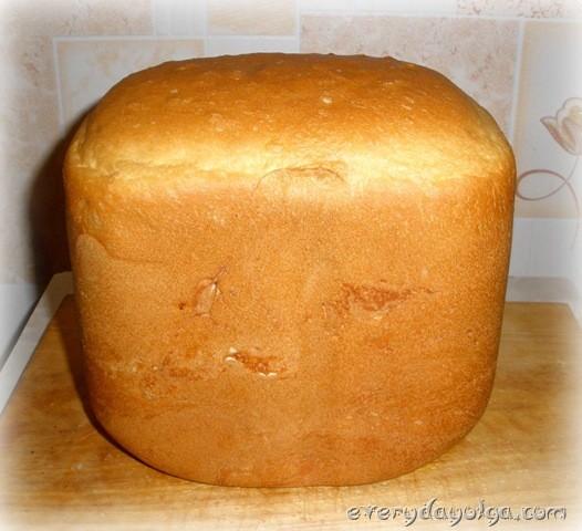 белй хлеб в хлебопечке