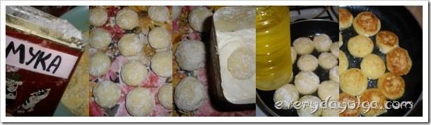 приготовление сырников из творога