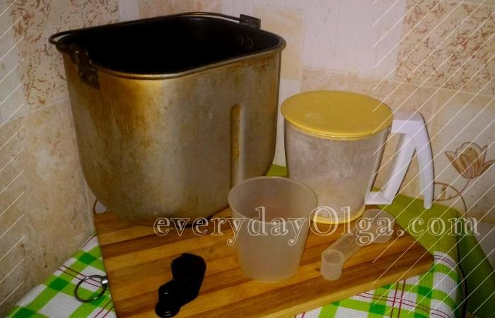 инструменты для выпечки хлеба
