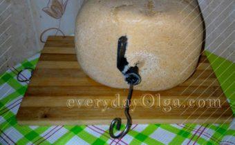 как вытащить мешалку из хлеба