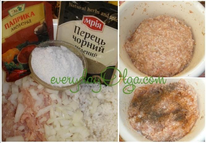 начинка для голубцов с мясом и рисом
