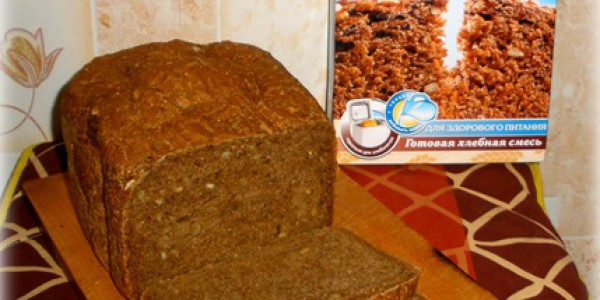Миниатюра к статье Фитнес хлеб из хлебной смеси